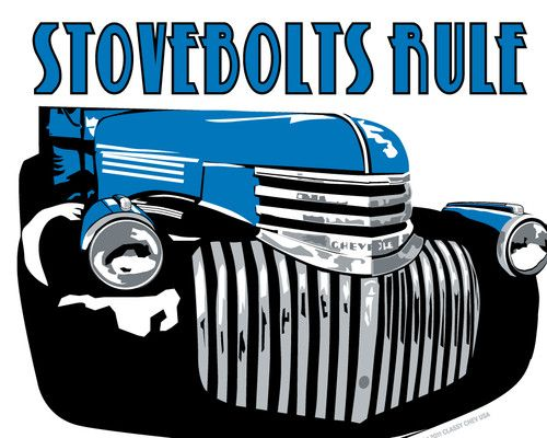 1941 1942 1946 Chevy Truck Grille Decals
