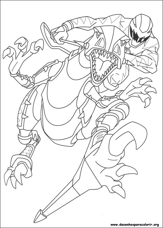 Power Rangers | Desenhos para Colorir - Coloring Pages | Pinterest