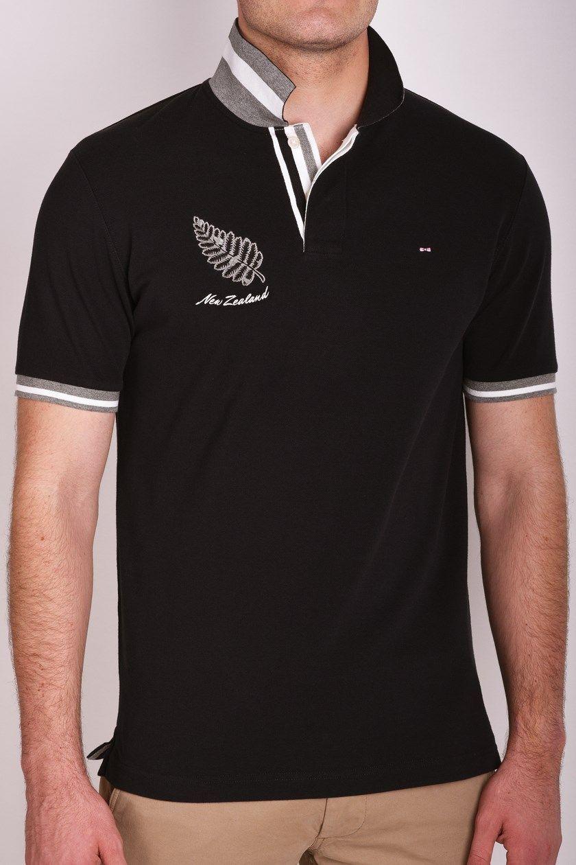 Regular Fern Tie Polo Shirt Eden Park   Shirts, Polo shirt