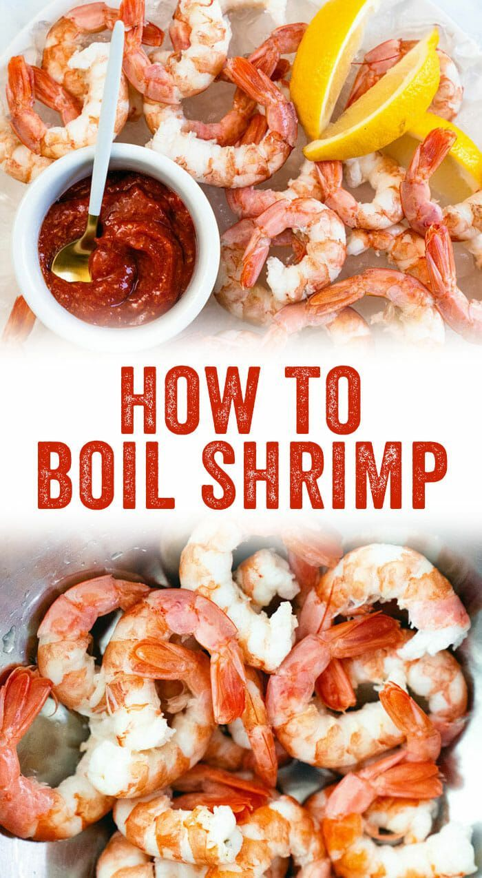How to Boil Shrimp (Quick & Easy!) – A Couple Cooks #boiledshrimp