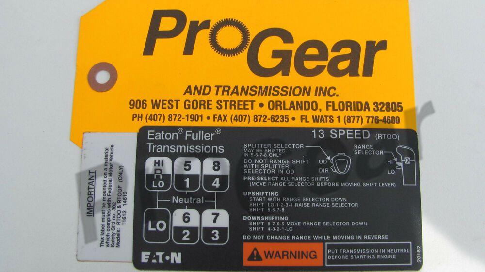 13 Speed Transmission For Sale