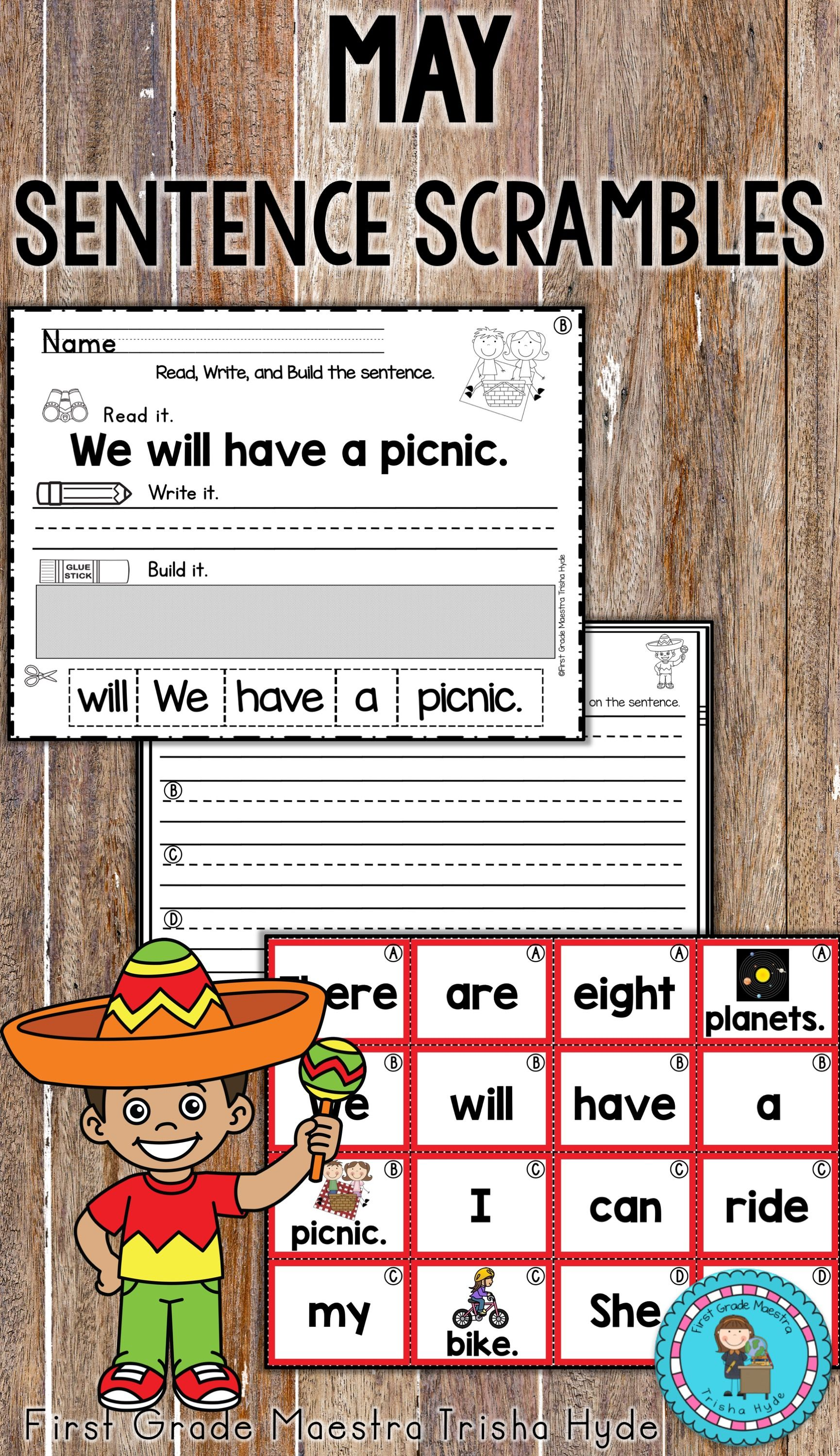 Your Kindergarten And First Grade Students Will Love These