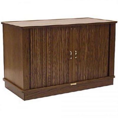 HSA TR12E II Executive Series Triple Professional Audio/Video Rack Furniture