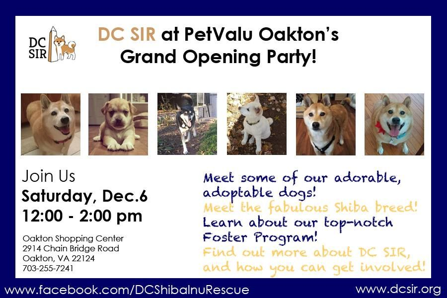Join Us Saturday December 6 From 12 2 00 For The Petvalu Oakton