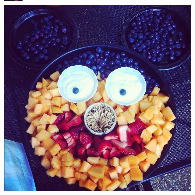 Mickey Mouse fruit party tray