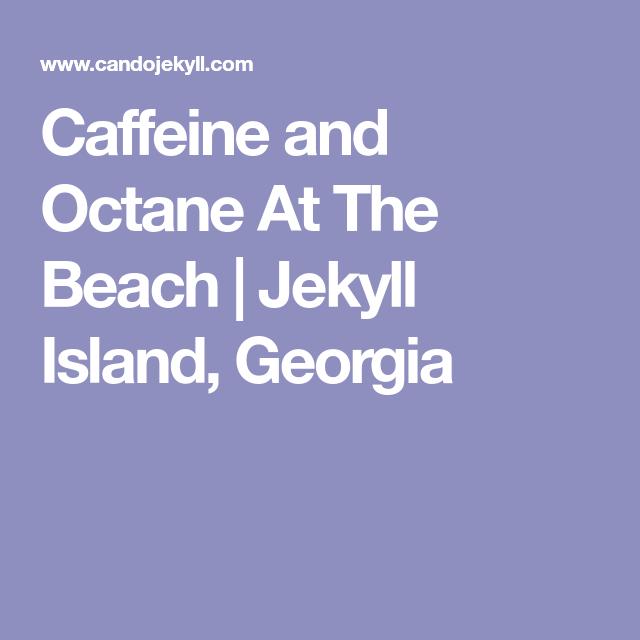 Caffeine And Octane At The Beach Jekyll Island Georgia - Jekyll island car show