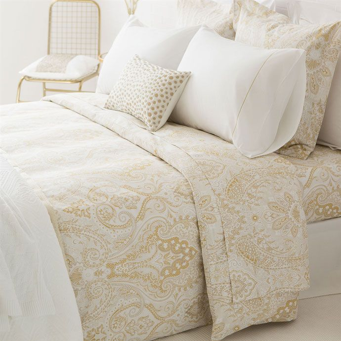 Housse De Couette Imprime Paisley Bed Linens Luxury Zara Home Bedroom Paisley Bedding