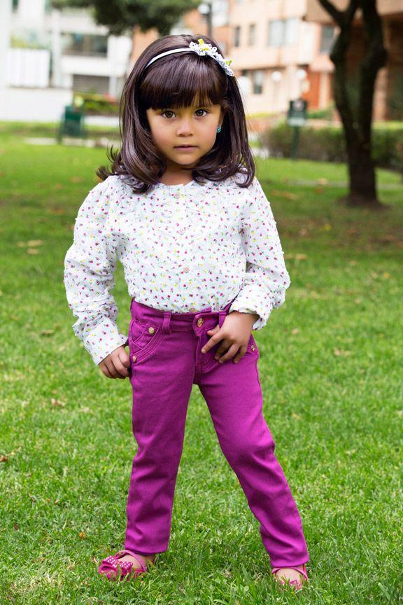 Pantalones para niña en Rogalet Jeans.