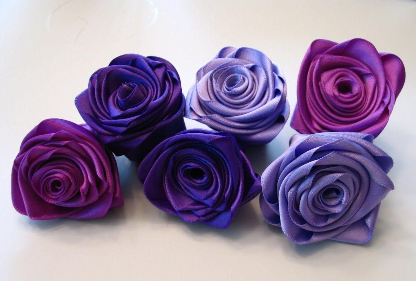 Quilling Made Easy How To Make Silk Satin Or Ribbon Roses