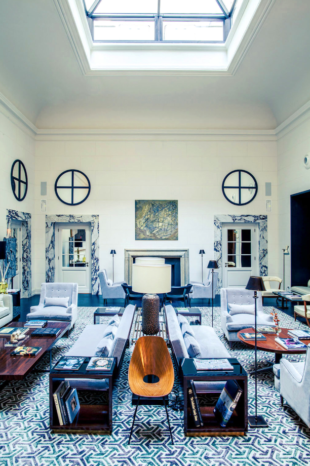 The intimate j k place roma is destined for a traveler for Design hotels italy