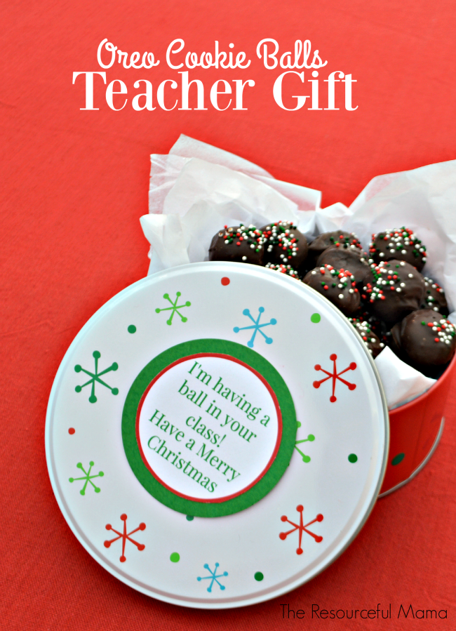 Oreo cookie balls teacher gifts recipe free printable gift oreo cookie balls teacher gifts no bake treatsfree printable gift tagsfree negle Image collections