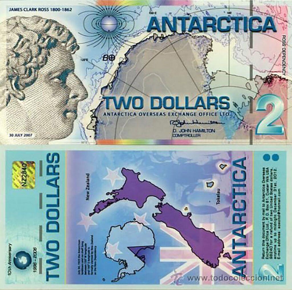 Los Asombrosos Dolares Antarticos Los Billetes Mas