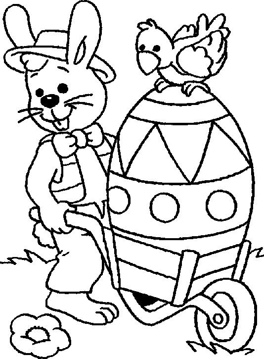 happy easter coloring pages printable  Alphabet  Pinterest