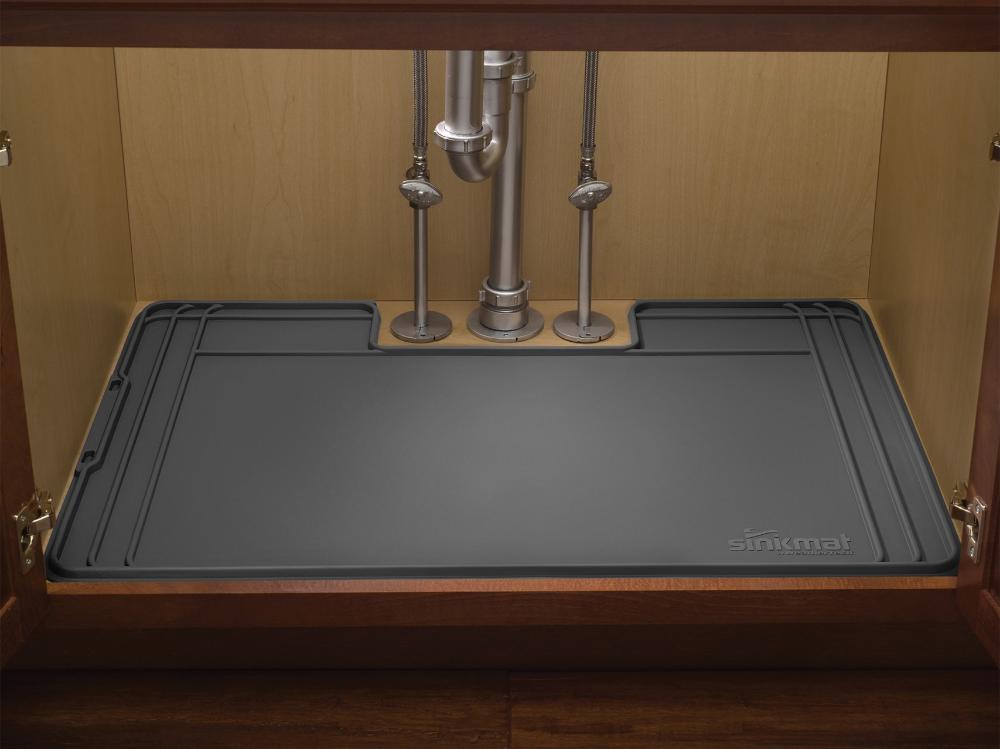 Pin By Ellen Robinson On Kitchen Organization In 2020 Under Kitchen Sinks Sink Mats Sink