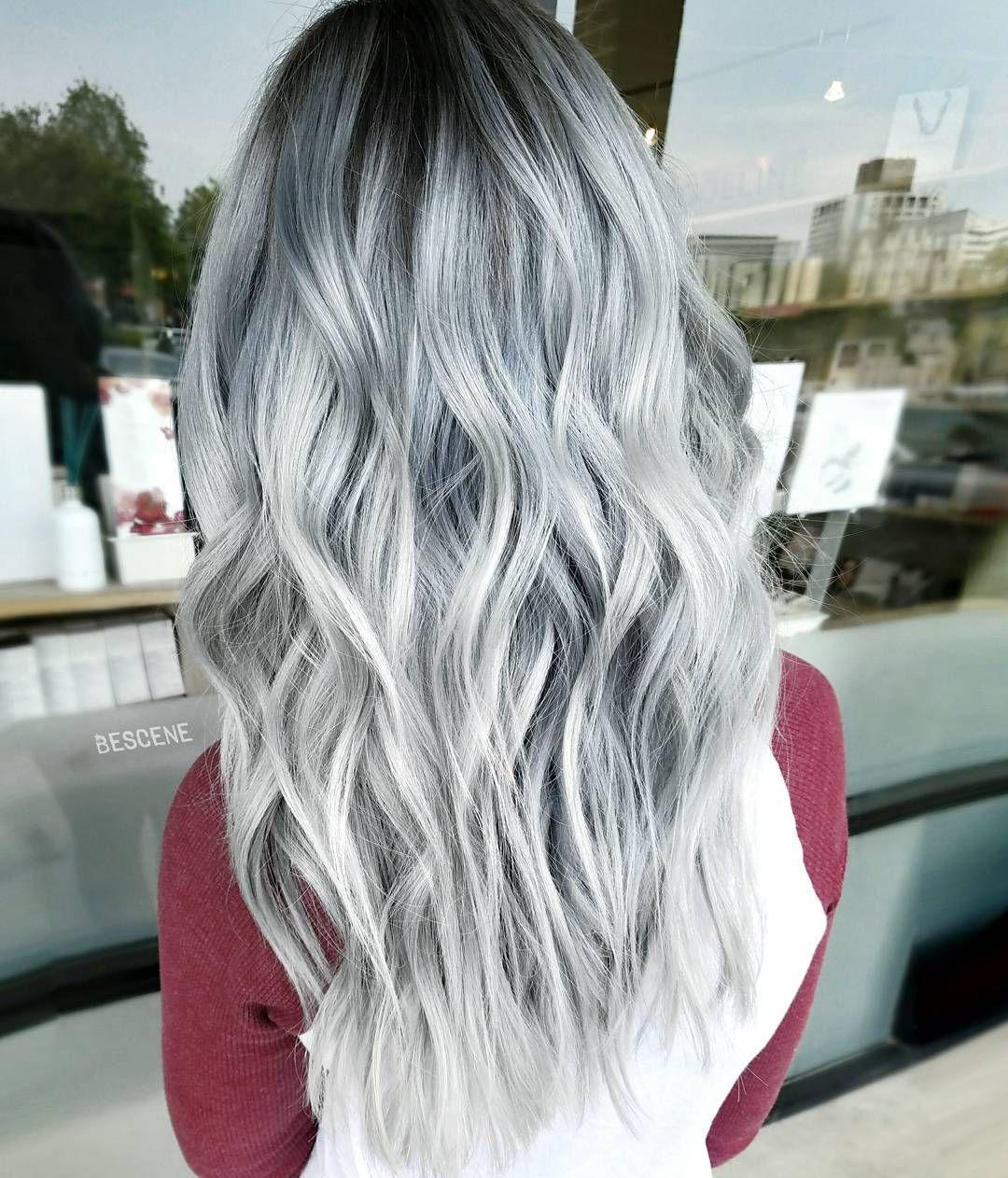 Lange Haare Kurze Frisuren Haarfarben Graue Frisuren Frisuren