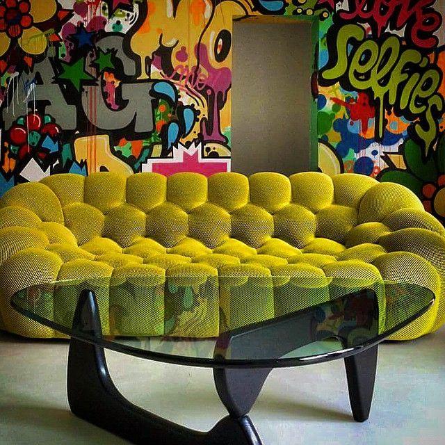 Iconicdesign The Bubble Sofa Designed By Sacha Lakic For Roche