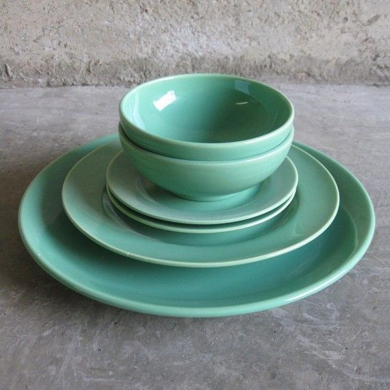 FRANCISCAN DINNERWARE. El Patio Set In Mint