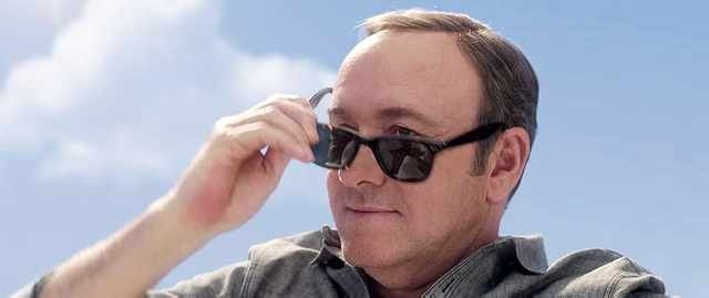 Kevin Spacey On Barge