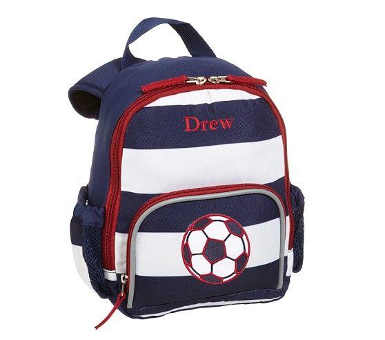 165e633624 Fairfax Navy White Stripe Backpacks