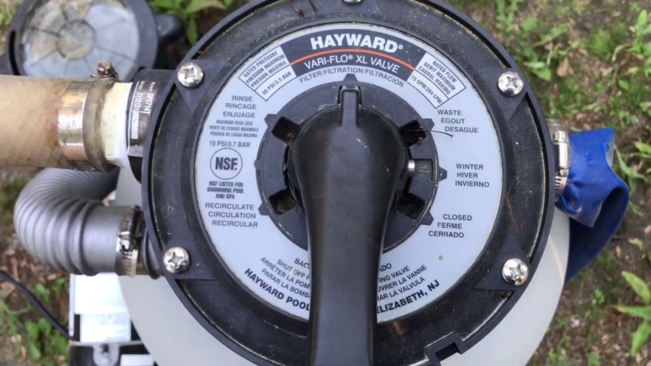 How to use different pool filter valve settings youtube