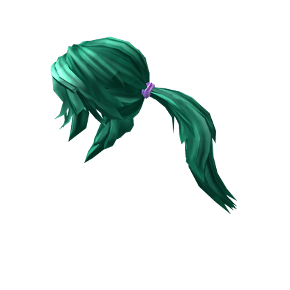 Teal Action Ponytail Ponytail Roblox Create An Avatar