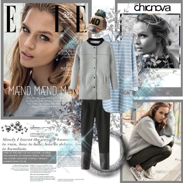 """Chicnova merrygorounds Josephine Skriver for Elle Denmark 2014"" by merrygorounds on Polyvore"