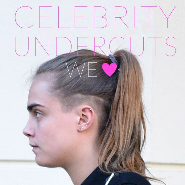 5 Celebs Who've Rocked the Undercut - Celebrity hair has officially kicked off 2015 with a bang! With Cara Delevingne's newly sheared tresses, major starlets have carried over the long-lasting shave trend. Predictably, these daring celebs totally rocked the bold 'do.