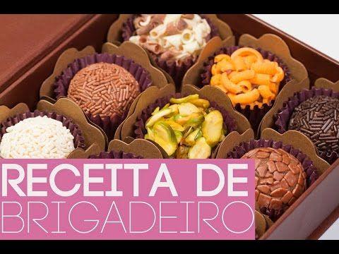Curso Brigadeiros Gourmet - Parte 2 / 100% Grátis - YouTube