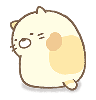 Sumikko Gurashi Myriad Of Feelings Sticker 41219 Line Sticker Elephant Drawing Unique Sticker