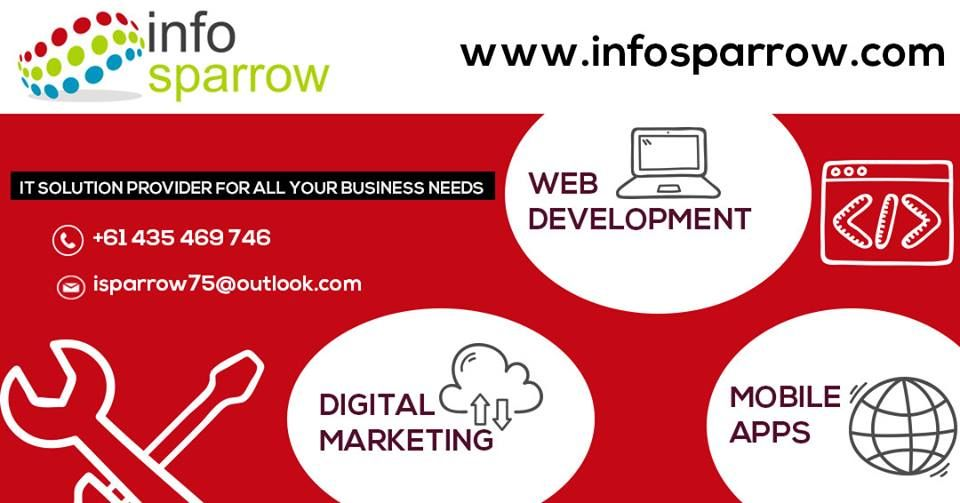 Infosparrow an Australian based IT service provider offering