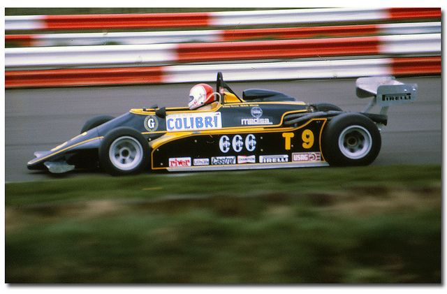 Johnny Cecotto - Minardi Fly 281 BMW/Mader - Minardi Team Srl - XXXIII International Trophy 1981
