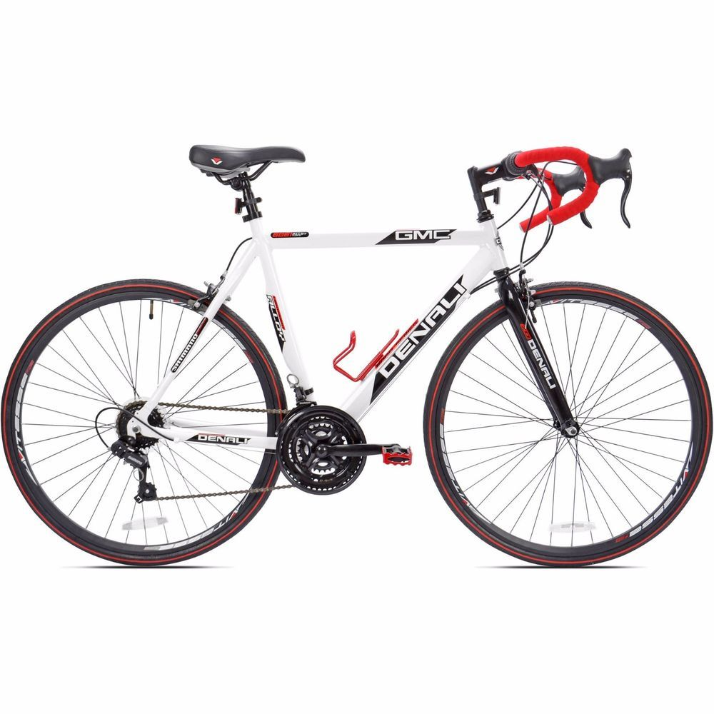 Gmc Denali Road Bike 21 Speed 22 5 Aluminum Frame Men Bicycle Shimano Sport New Kent Gmc Denali Man Bike Road Bikes Men