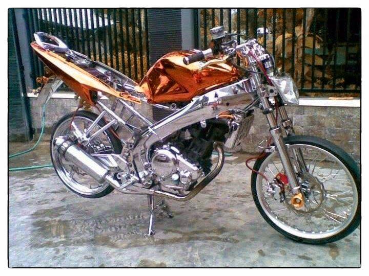 Modifikasi Motor Vixion Standar Velg Jari Jari Tdr Velg Motor Motor Yamaha