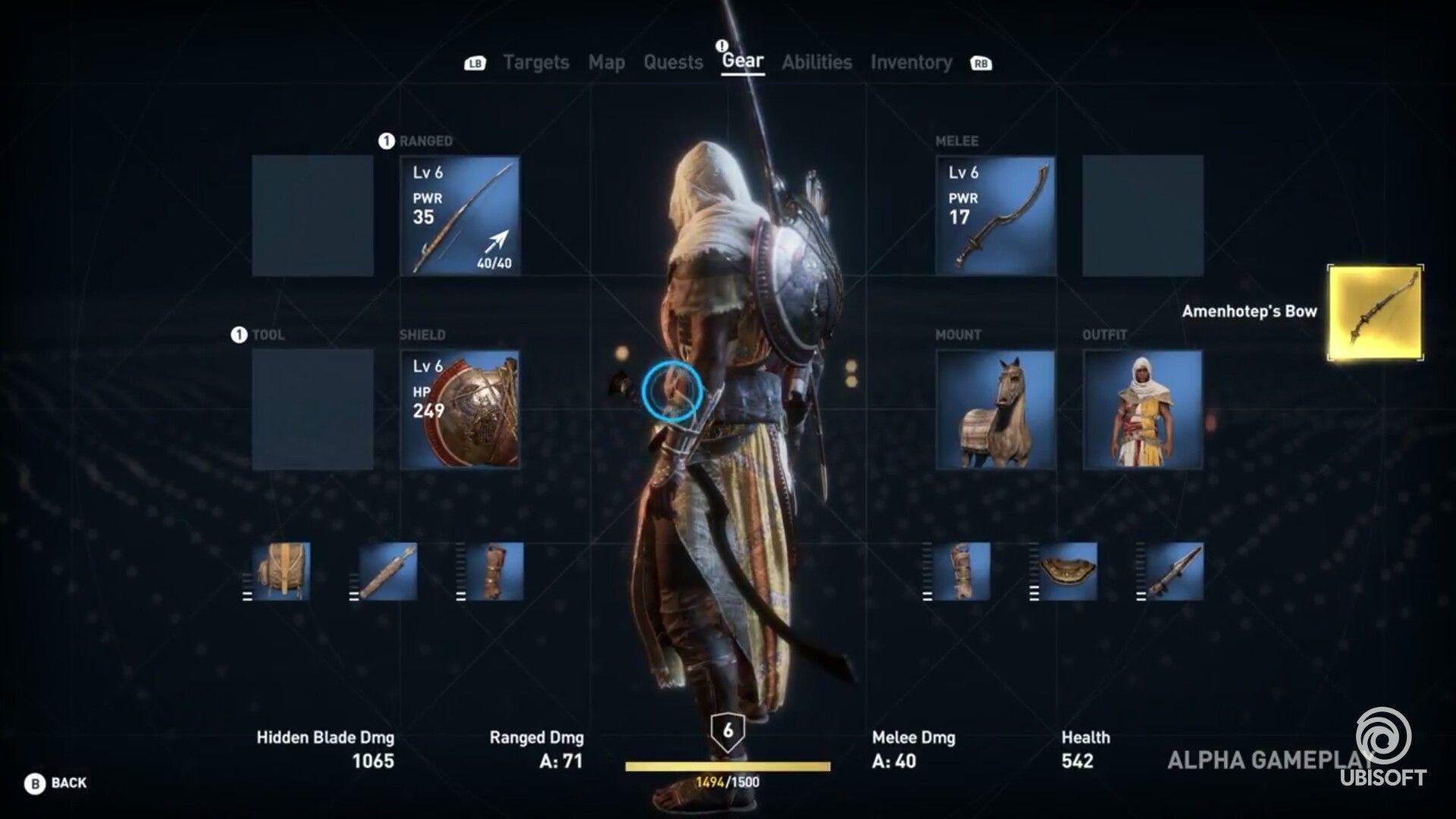 Assassin S Creed Origins E3 2017 Gameplay Walkthrough Trailer