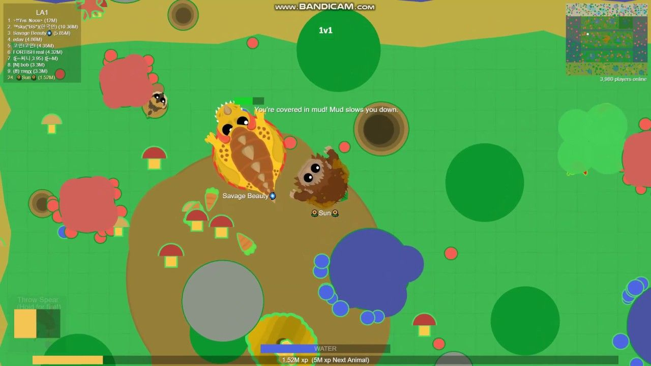 Pin On The Real Sun Playing Mope Io
