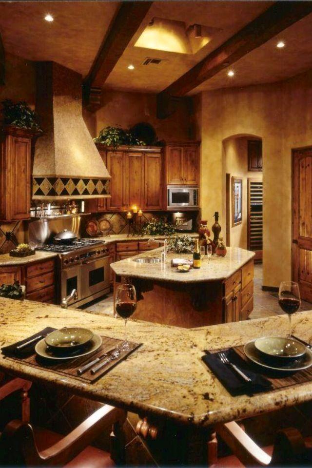 Nice kitchen | Dream Home | Pinterest