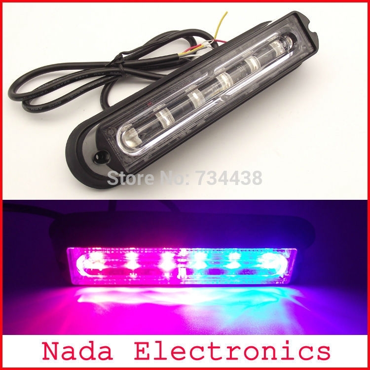30.00 Watch here 6led Police car strobe lights vehicle
