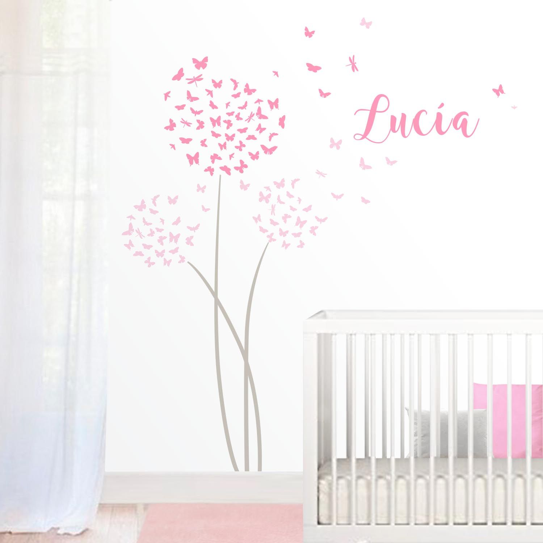 Pin de deisy cabrera en decoracion habitacion bebe - Decoracion habitacion bebe vinilos ...