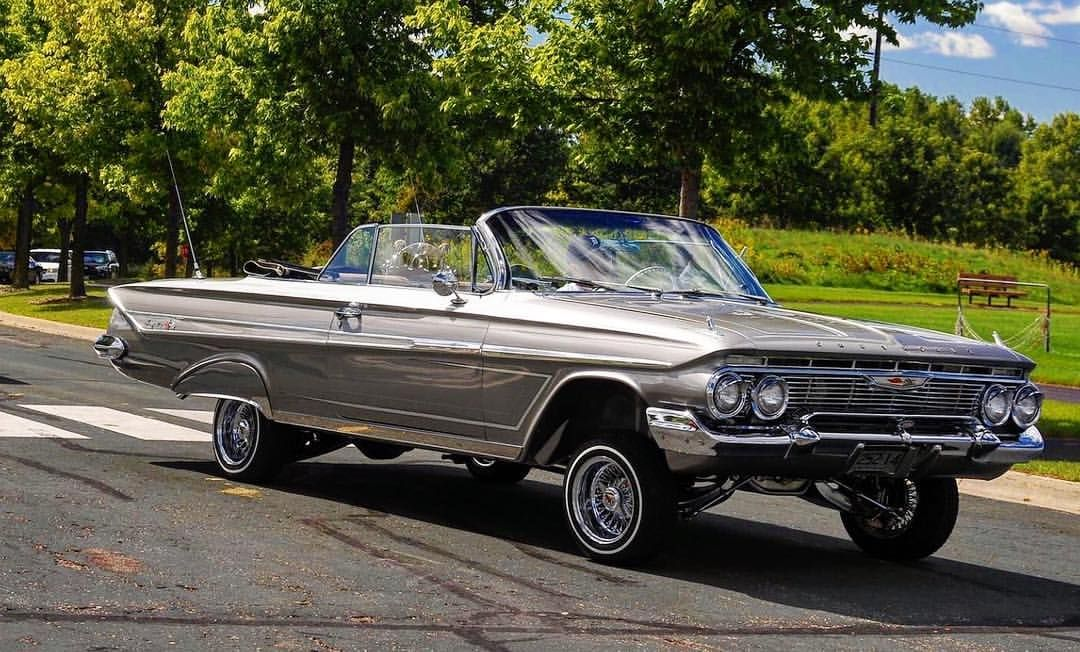 See This Instagram Photo By Detroitragace 384 Likes Classic Cars Trucks Classic Cars 1961 Impala