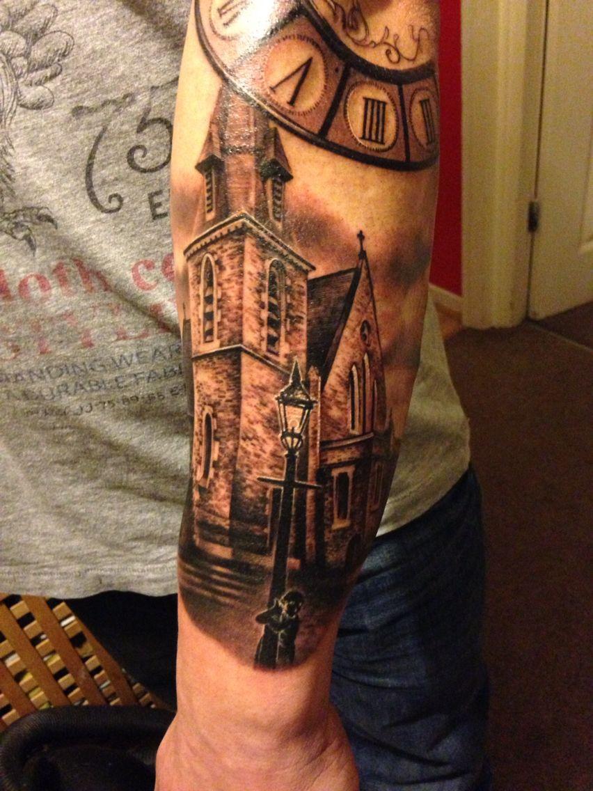 church tattoo tattoos pinterest church tattoo tattoo and tatoo. Black Bedroom Furniture Sets. Home Design Ideas