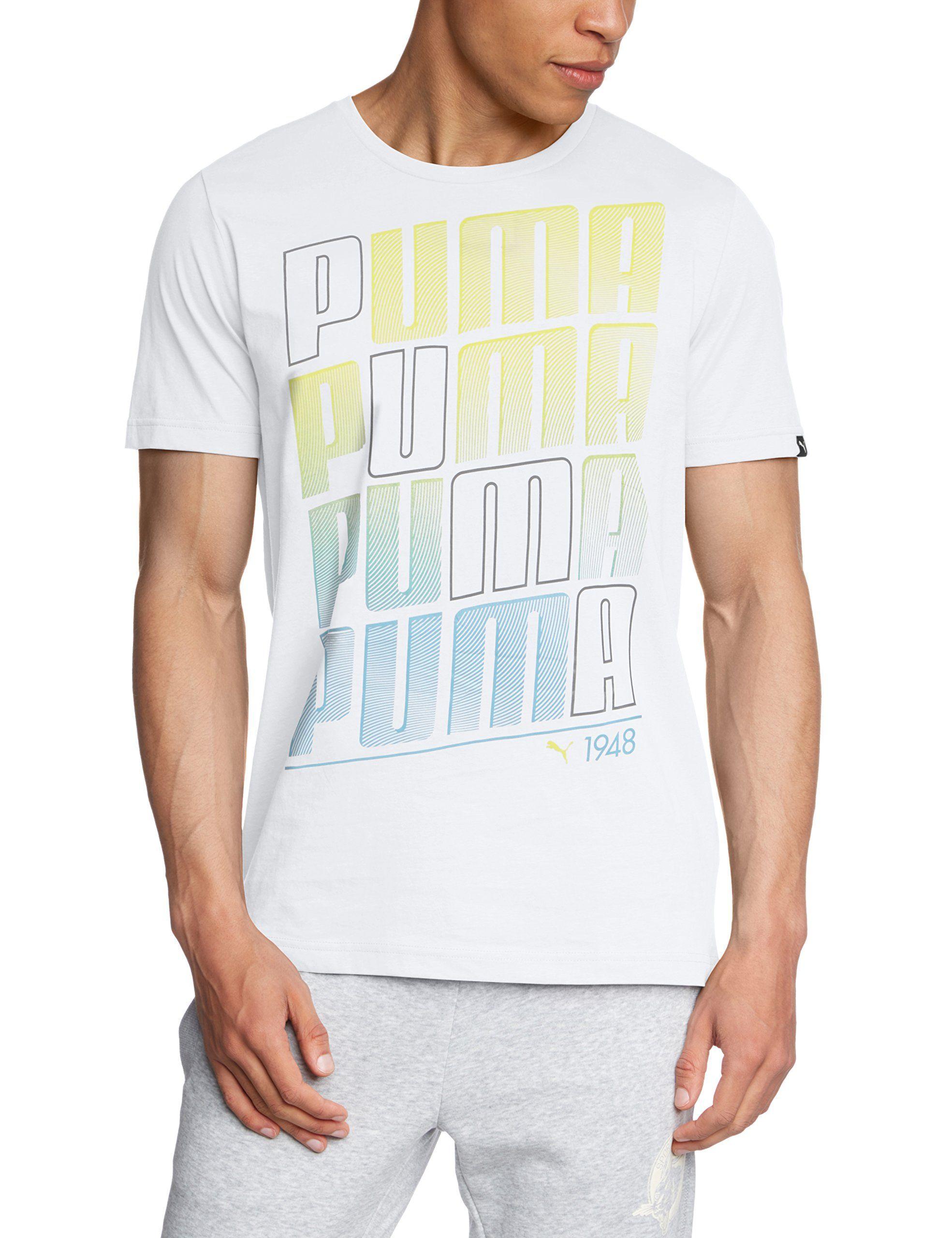 PUMA Herren T-Shirt Fun Summer Graphic Tee: Amazon.de: Sport & Freizeit