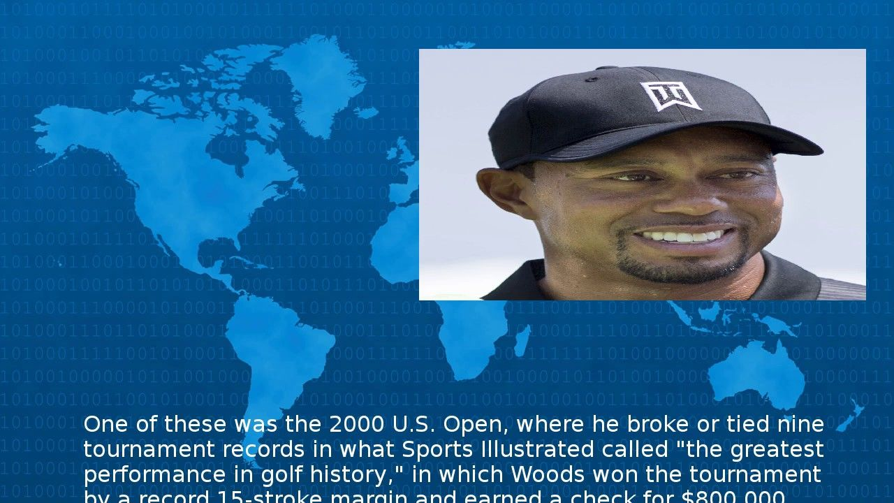 Tiger Woods - Wiki   Golf history, Tiger woods, Tournaments