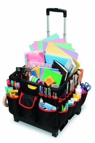 Superieur Portable Organizer Cart Rolling Storage Craft Wheels Tote Mobile  Scrapbooking #Darice