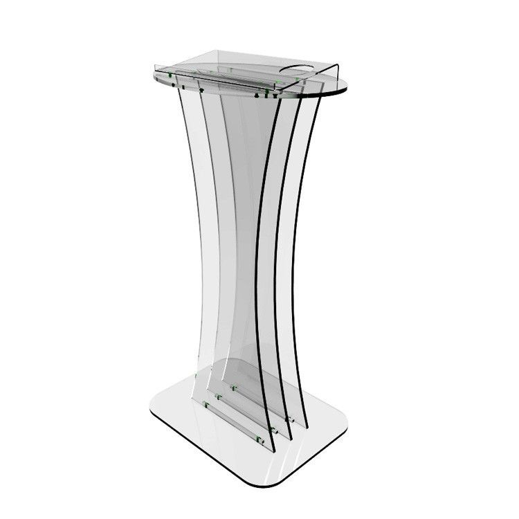 Fixture Displays Clear Acrylic Lucite Podium Pulpit Lectern 1803-1 ...