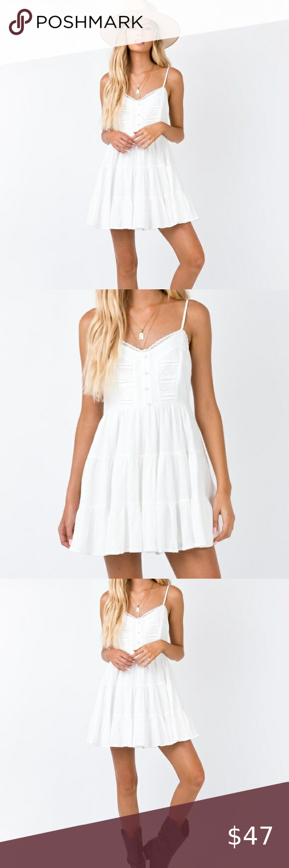Princess Polly Dlaney White Lace Tiered Mini Dress Mini Dress Dresses Polly Dress [ 1740 x 580 Pixel ]
