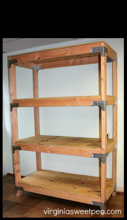 Wood Small Shelf Unit