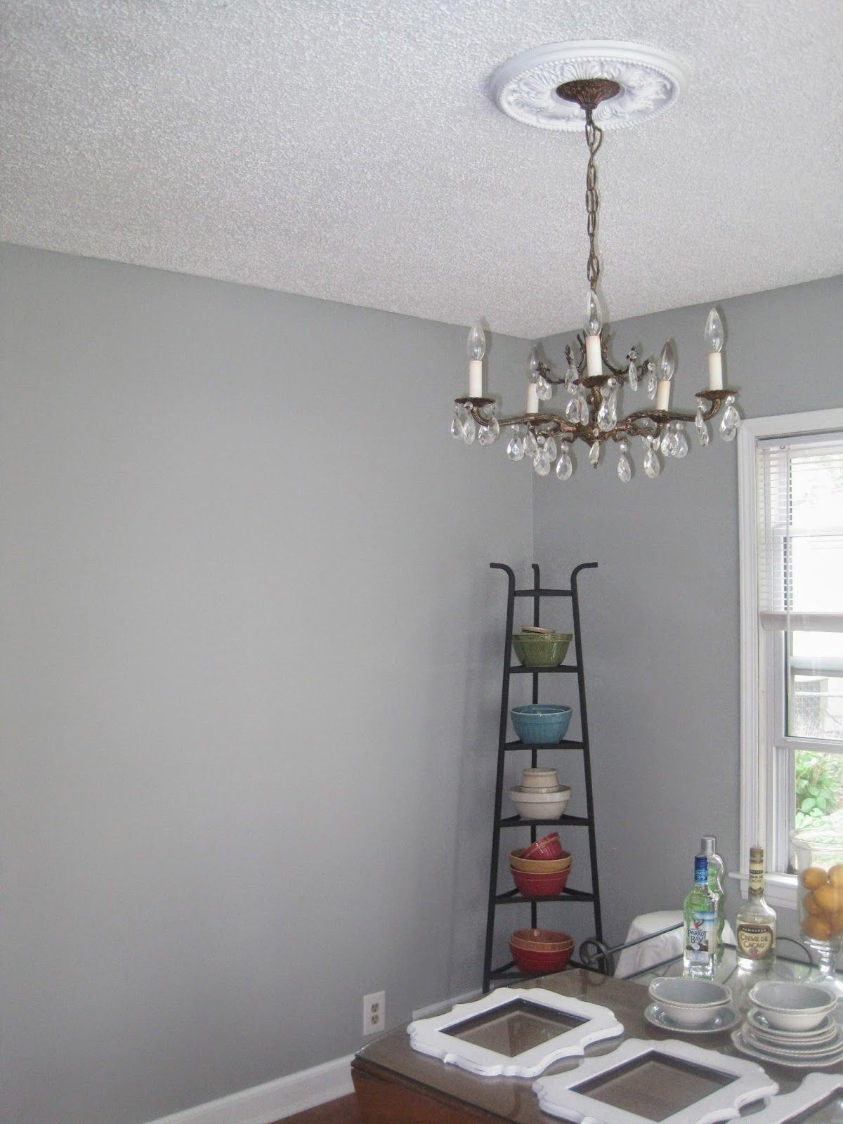 Paint Color For Kitchen Walls Above Chair Rail Driftwood Gray By Martha