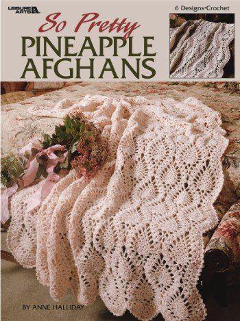 Crochet Pineapple Afghan Pattern | Pretty Pineapple Afghans Croche ...