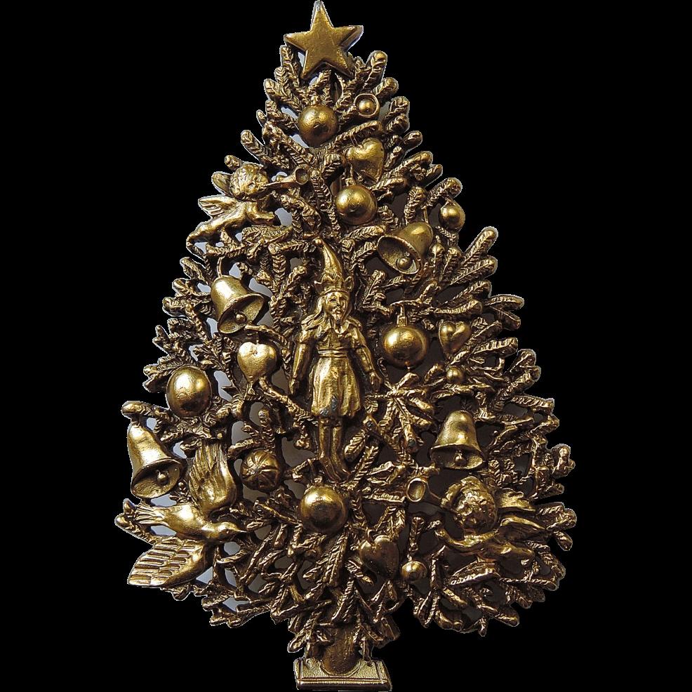 Mfa Museum Of Fine Arts Boston Victorian Style Christmas Tree Pin Jewelry Christmas Tree Jewelry Tree Art Jewelry Tree