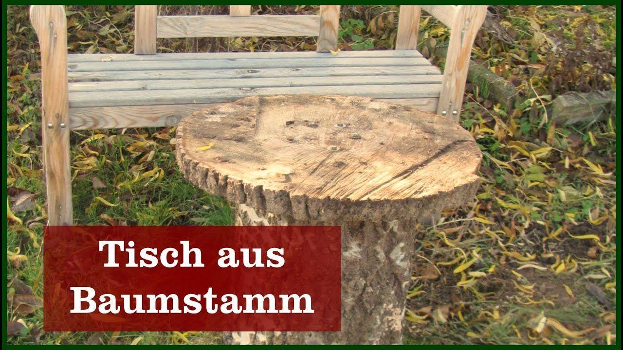 Tisch Bauen Aus Baumstamm Mit Baumscheibe Aus Bauen Baumscheibe Baumstamm Mit Tisch Chic Home Decor Home Decor Projects To Try